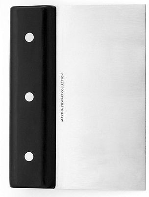 Martha Stewart Collection Professional Tools Collection Scraper, Stainless Steel