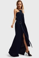 Aq/Aq Zeme Halterneck Maxi Dress
