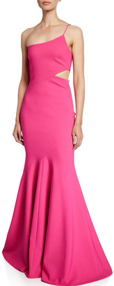 LIKELY Josephine One-Shoulder Mermaid Gown