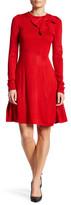 Eliza J Empire Bow Waist Dress (Petite)