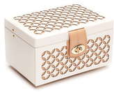 Wolf Chloe Small Jewelry Box, Cream
