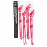 Zak Designs Zak! Designs Flamingo Shaped Swizzle Sticks (Two packs of 8 - 16 total)