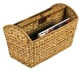 Household Essentials Water Hyacinth Magazine Rack - Natural