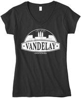 Cybertela Vandelay Industries Junior Ladies V-neck T-shirt