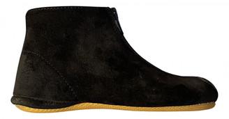 Gallucci Blue Suede Boots