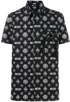 Kokon To Zai monogram print shortsleeved shirt - men - Cotton - S