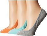 Lauren Ralph Lauren Ultra Low Cotton Liner 3 Pack Women's No Show Socks Shoes