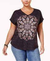 Style&Co. Style & Co Plus Size Graphic T-Shirt, Only at Macy's