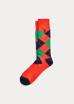 Ralph Lauren Argyle Dress Socks