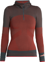 adidas by Stella McCartney Essentials seamless hooded base-layer top