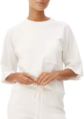 Fenix All Lyla Elbow-Sleeved Ribbed Tee