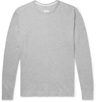 Rag & Bone Slim-Fit Waffle-Knit Melange Cotton T-Shirt