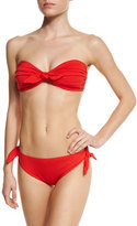 Michael Kors Solid Two-Piece Swimsuit, Coral