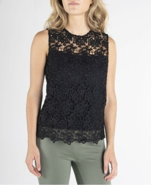 Nanette Lepore Sleeveless Lace Top