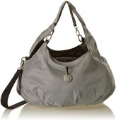 BabyCenter Lassig Gold Label Shoulder Bag (Metallic Silver)