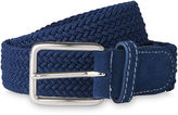 Whistles Suede Trim Woven Belt
