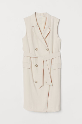 H&M MAMA Trench Dress - Beige