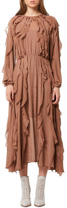 Elliatt Stevia Dress Chestnut