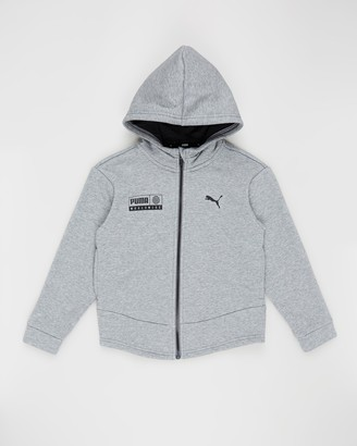 Puma Alpha Graphic Sweat Jacket - Teens