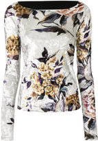 MM6 MAISON MARGIELA floral patterned sweater