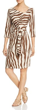 Leota Celeste Zebra Print Dress