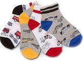 Stride Rite Austan Emergency Vehicles Socks 4-Pack