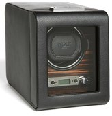 Wolf Roadster Single Watch Winder - Black
