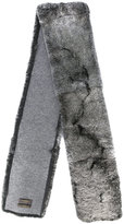 N.Peal long fur scarf - men - Rabbit Fur/Cashmere - One Size