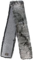 N.Peal long fur scarf