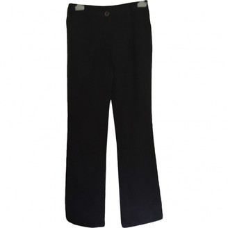 Christian Dior Black Cotton Trousers for Women