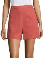 Theory Tarrytown High-Waist Shorts