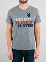 Junk Food Clothing Playboy Tee-steel-m