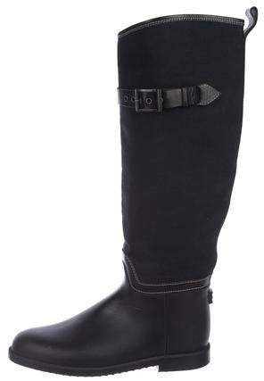 Chloé Canvas Knee-High Boots