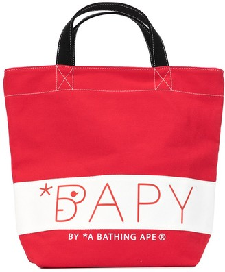 Bapy By *A Bathing Ape® Signature Canvas Tote