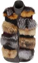 S.W.O.R.D. Fur Applique Vest