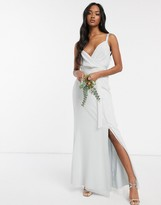 Maids To Measure Maids to Measure cami maxi dress with split in chiffon