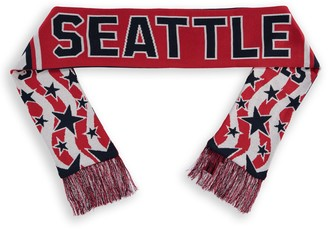Americana Fanatics Branded Navy/White Seattle Sounders FC Jacquard Scarf