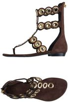 Barbara Bui Toe post sandal