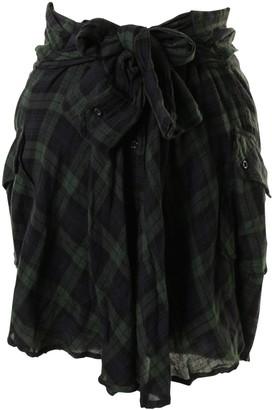 Etoile Isabel Marant Green Cotton Skirts