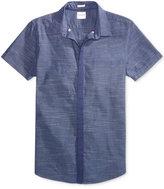 GUESS Men's Venice Slub Cotton Shirt