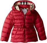 Burberry Janie Puffer Jacket Girl's Coat