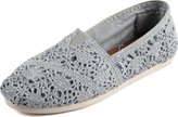 Toms Women's Alpargata Metallic Crochet Ankle-High Synthetic Flat Shoe - 6M