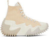 Thumbnail for your product : Converse Beige Run Star Motion High Sneakers