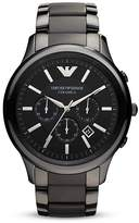 Emporio Armani Black Ceramic Watch, 47mm