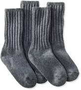 """L.L. Bean Merino Wool Ragg Sock, 10"""" Two-Pack"""