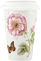 Lenox Butterfly Meadow Floral Porcelain Travel Mug