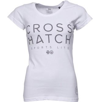 Crosshatch Womens Adrianna T-Shirt White