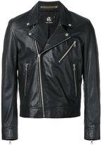 Paul Smith multi-pocket biker jacket