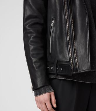 AllSaints Cobden Leather Biker Jacket