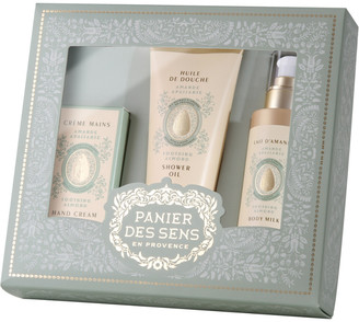 Panier Des Sens Sweet Almond Body Care Gift Set